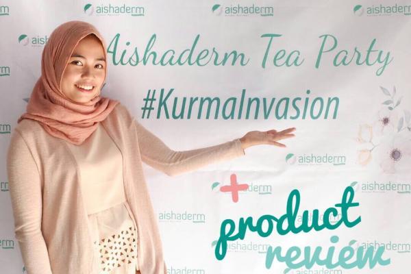 Aishaderm Tea Party + Mini Product Review
