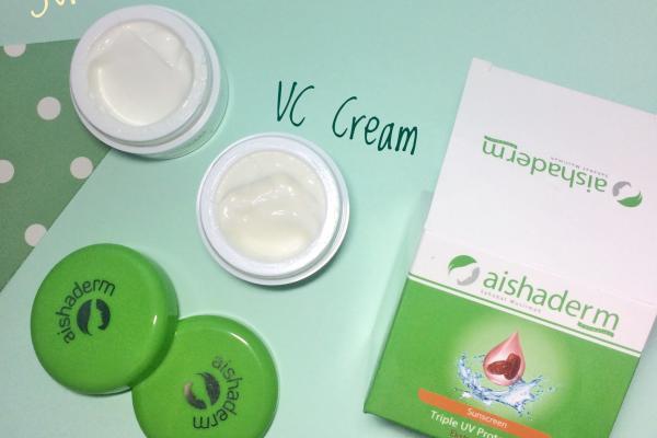 Review VC Cream dan Sunscreen